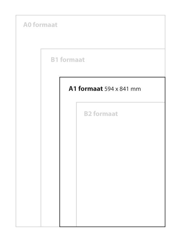 Set transparante sheets A1