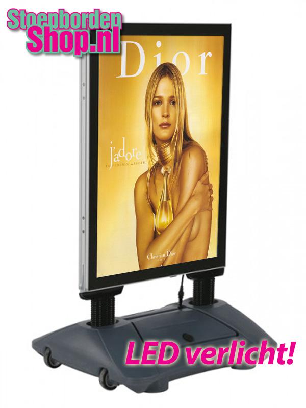 Stoepbord LED A1
