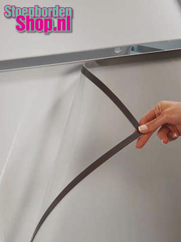 2x Transparante sheets A1 magnetisch